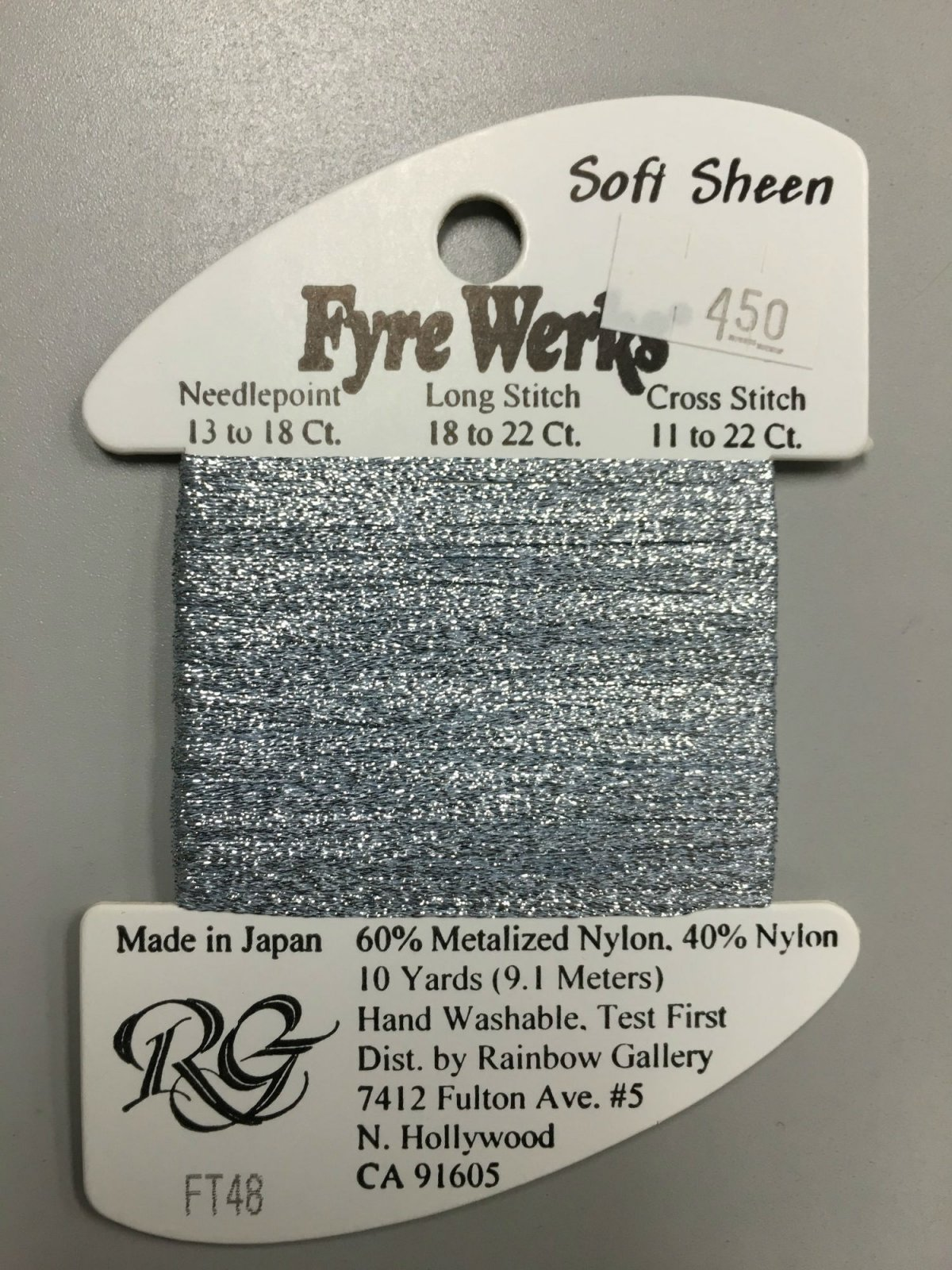 Fyre Werks Soft Sheen FT48