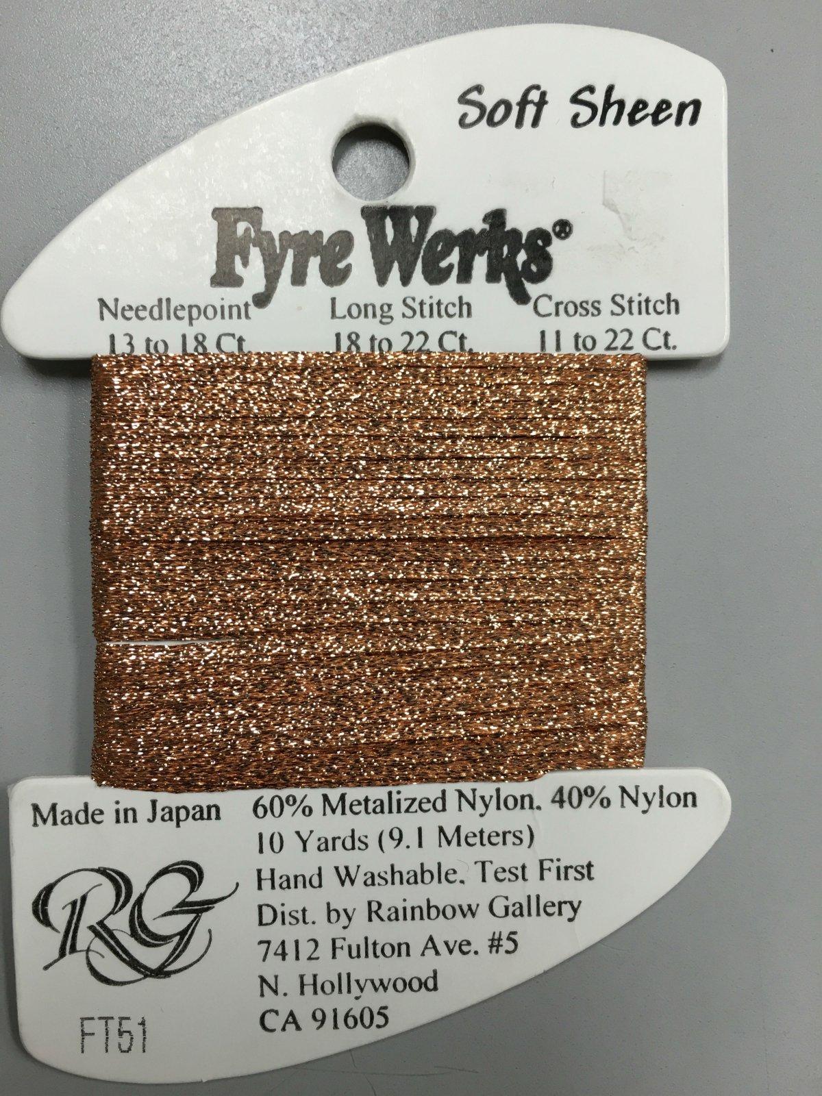 Fyre Werks Soft Sheen FT51