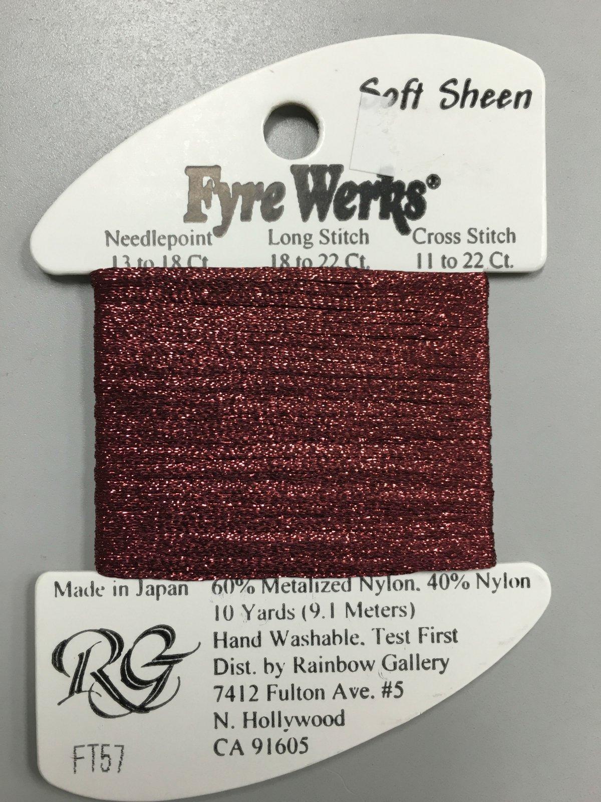 Fyre Werks Soft Sheen FT57