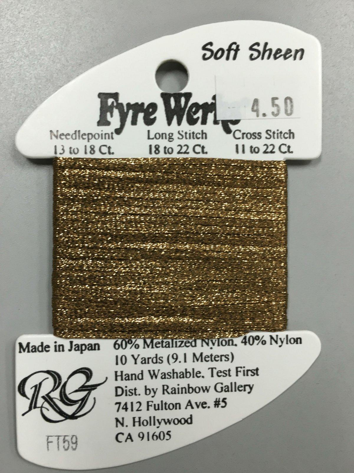 Fyre Werks Soft Sheen FT59