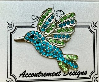 Accoutrement Designs Hummingbird