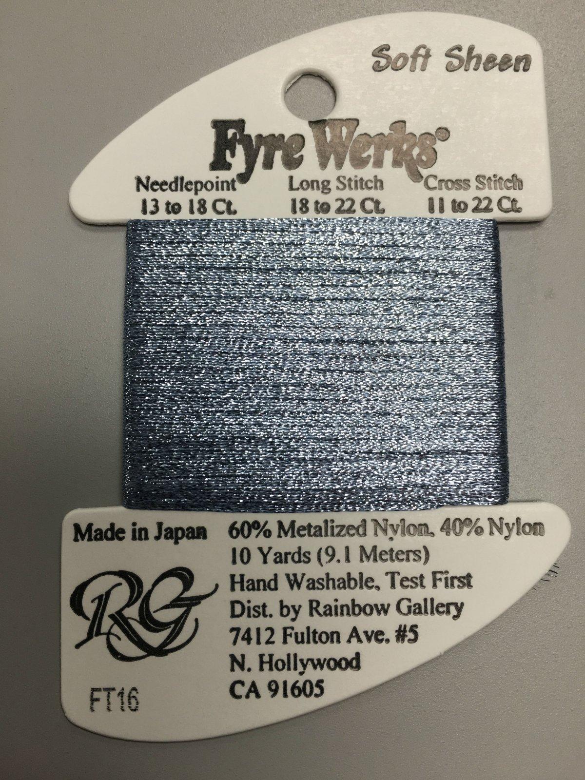 Fyre Werks Soft Sheen FT16