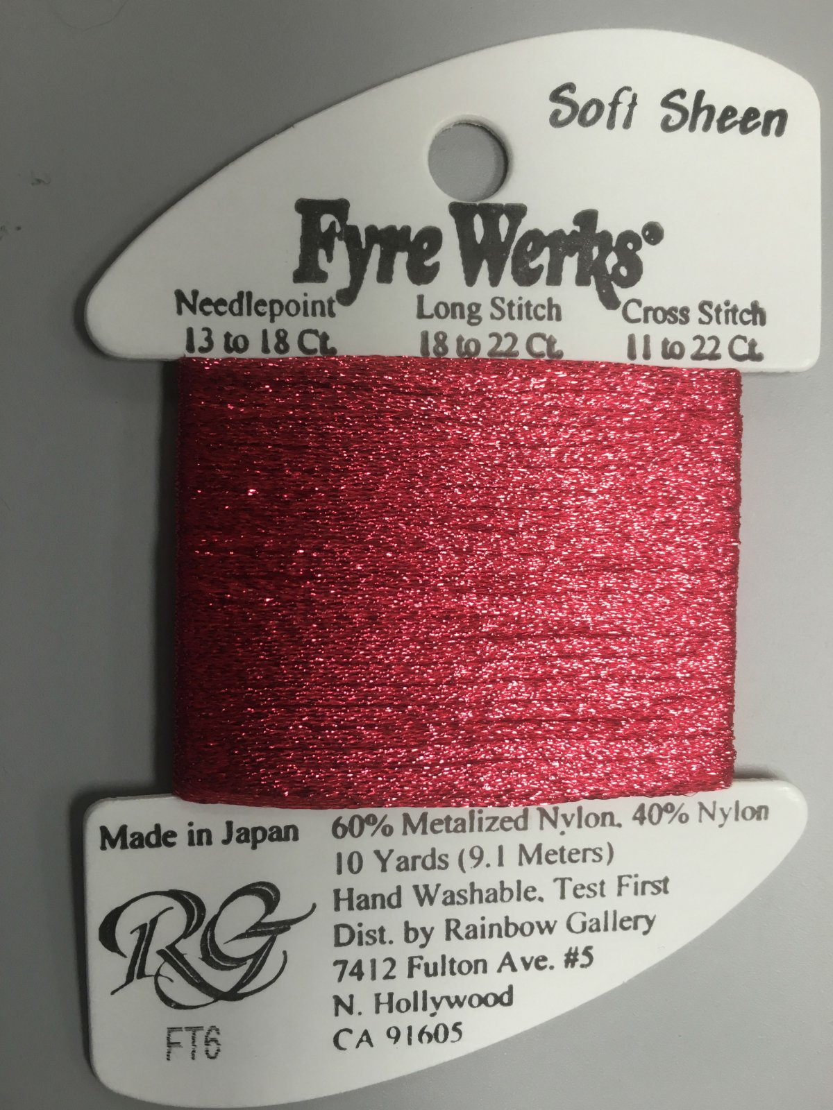 Fyre Werks Soft Sheen FT6