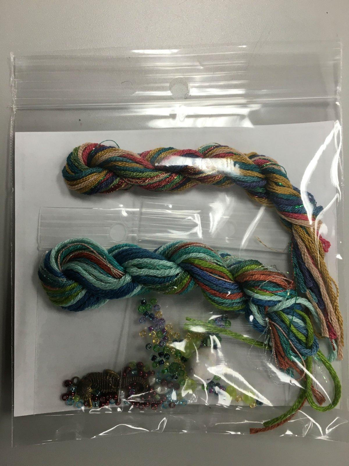 Jeannette Douglas Designs Mermaid Box embellishment pack