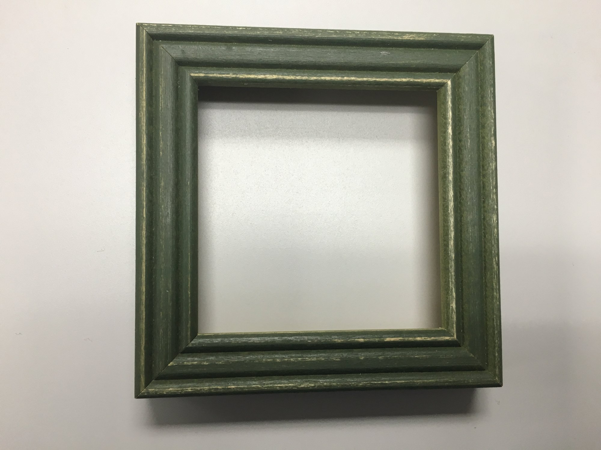 Heart in Hand Green Wood Frame 3 opening
