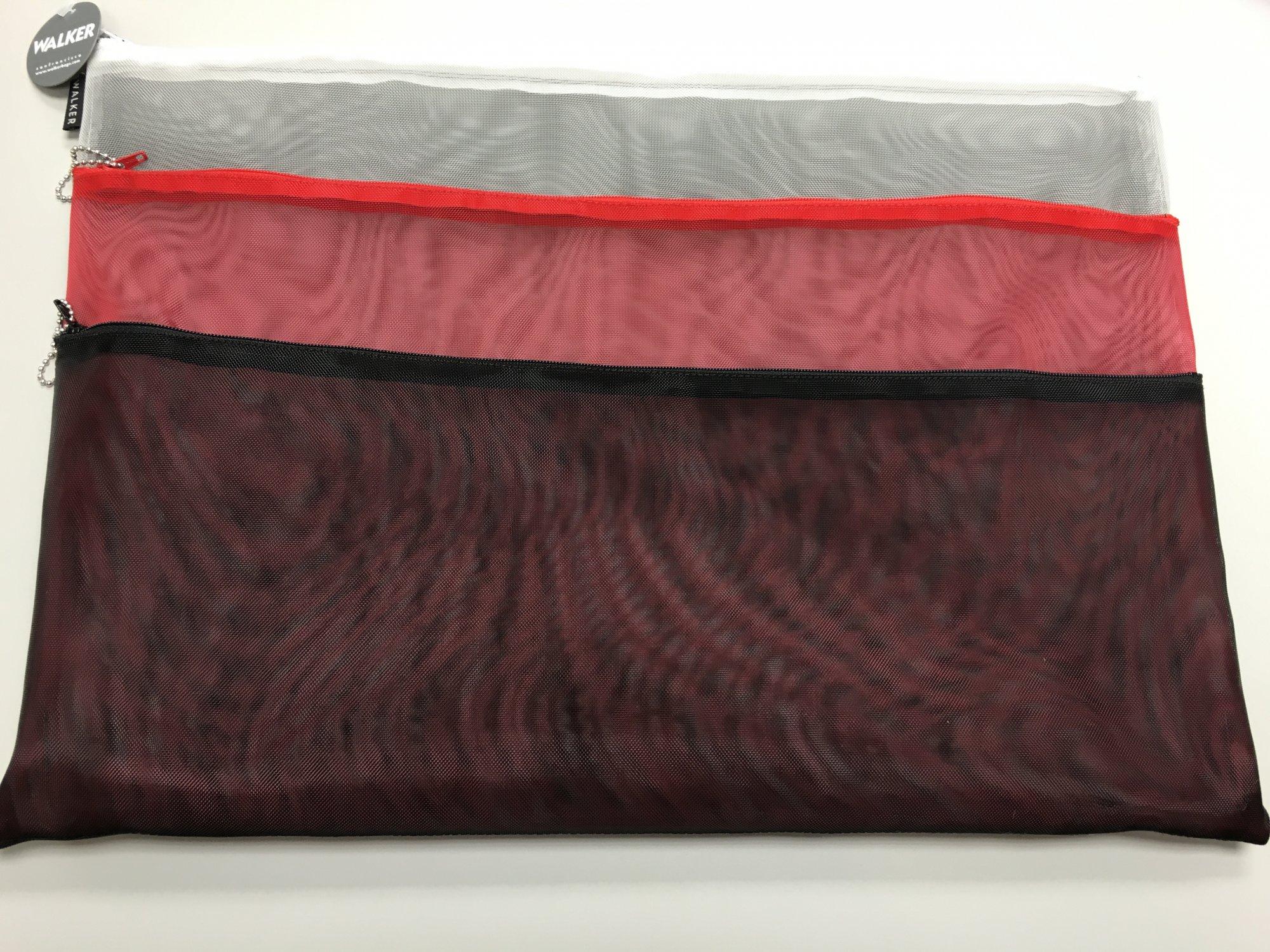 Walker Bags 3 zipper 18 x 13