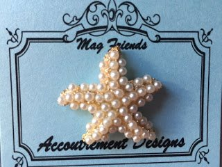 Accoutrement Designs Starfish Pearl