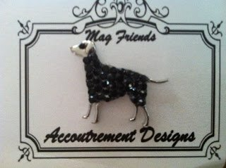 Accoutrement Designs Black Dog Large