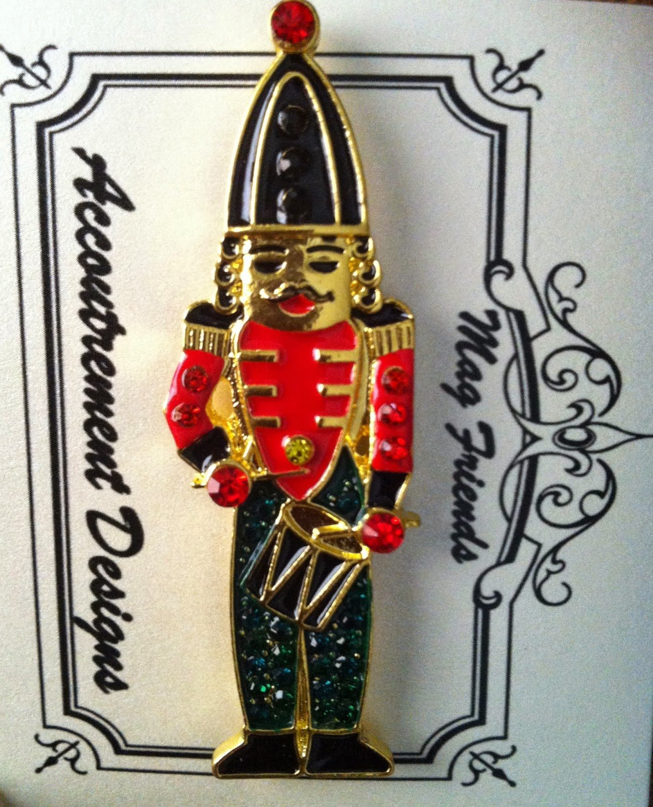 Accoutrement Designs Nutcracker (drummer)