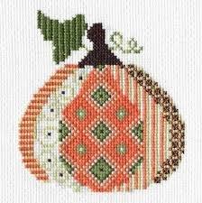 Creative Needle Arts Patterned Pumpkin #2 kit