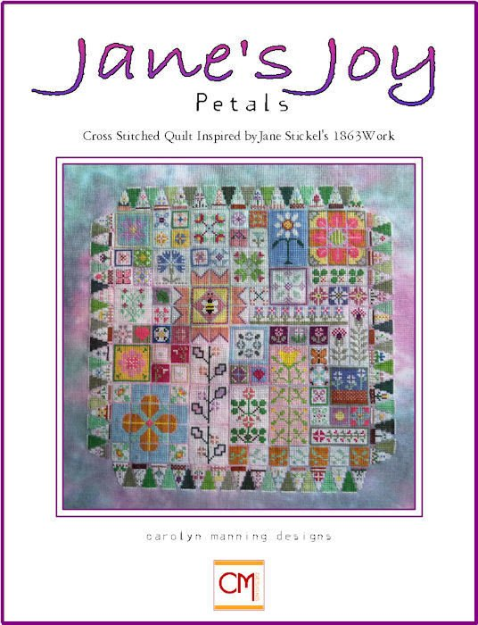 Carolyn Manning Designs / CM Designs Jane's Joy - Petals