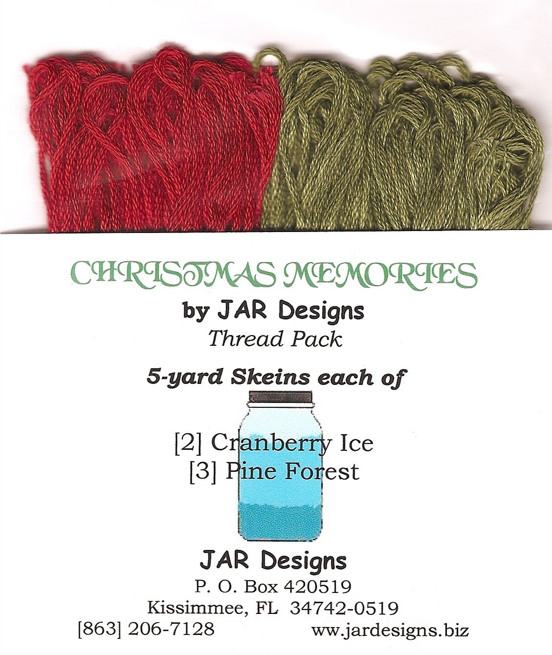 Christmas Memories Thread Pack