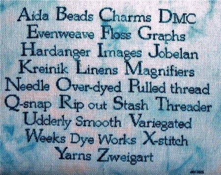 Jar Designs A Stitcher's Vocabulary