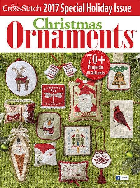Just Cross Stitch 2017 Christmas Ornaments
