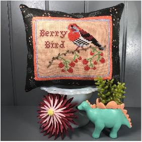 Bendy Stitchy Berry Bird