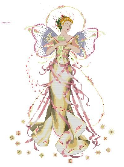Mirabilia June's Pearl Fairy