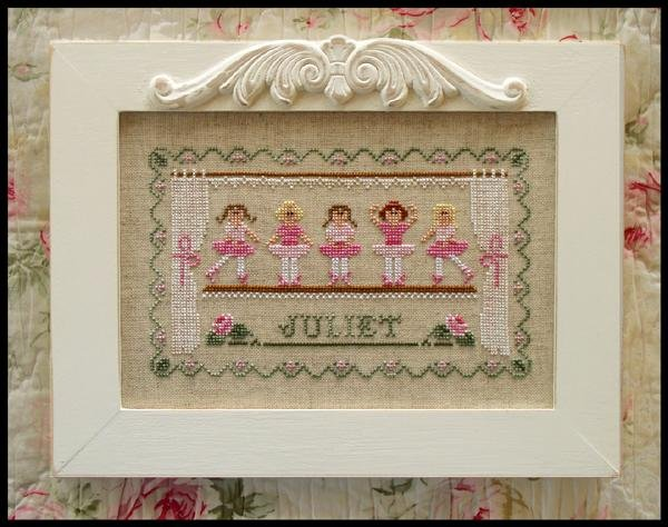 Country Cottage Needleworks Little Ballerinas