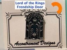 Accoutrement Designs LOTR Friendship Door needle minder