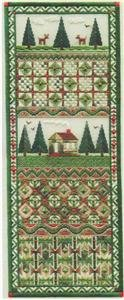 Laura J Perin Country Cabin Panel