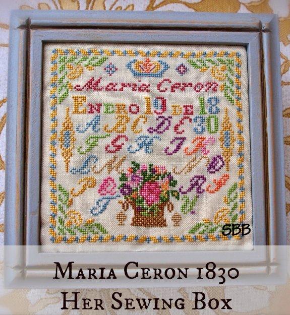 Lindsay Lane Designs Maria Ceria 1830 Her Sewing Box
