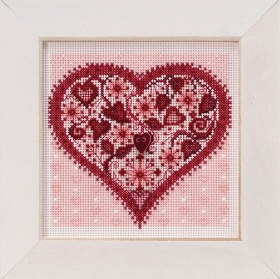 Mill Hill Button & Beads Spring Series Valentine Heart