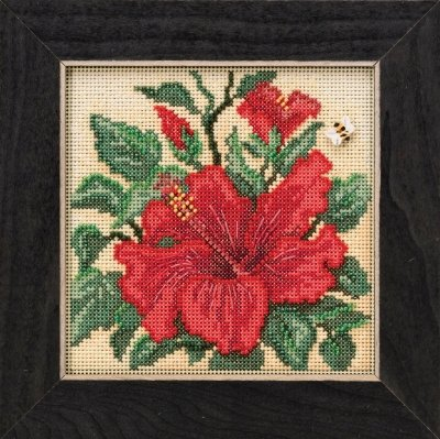 Mill Hill Button & Beads Spring Series Hibiscus MH14-1915