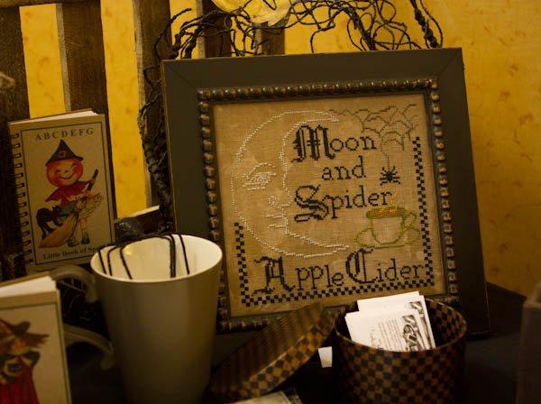Needlework Press Moon & Spider, Apple Cider