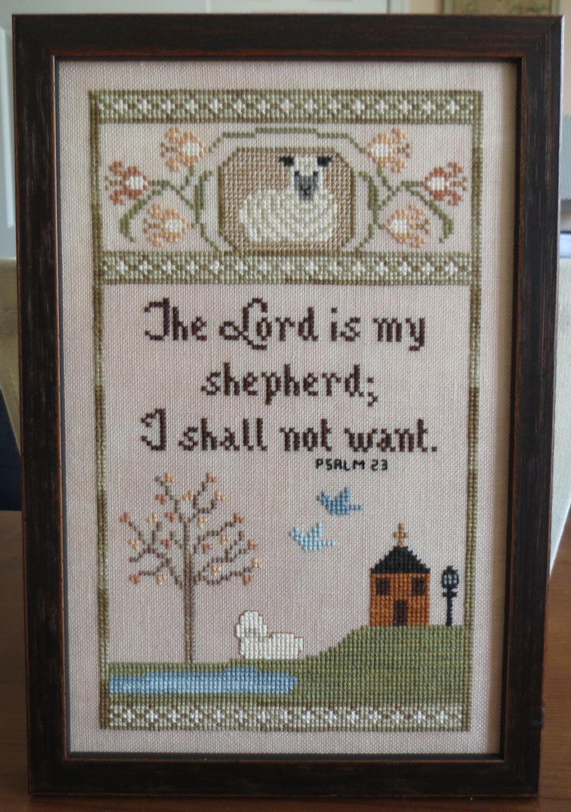Stitches Through Time My Shepherd