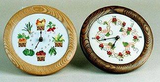 Sudberry House Oakt Clock 7 Round Design Area