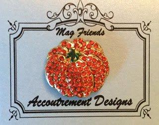 Accoutrement Designs Pumpkin Orange