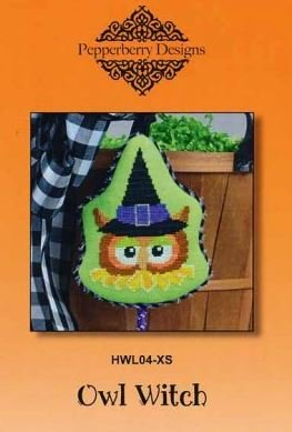 Pepperberry Designs Owl Witch