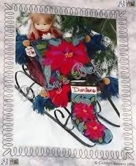 The Tapis-Tree Poinsetta Stocking