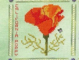 Fireside Originals A Heart Like a Wildflower #2 California Poppy