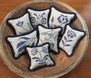 Pricilla's Pocket Stoneware Pinpillows III