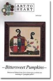 Art to Heart Bittersweet Pumpkins w/buttons