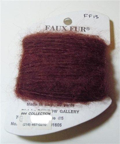 Faux Fur FF13 brown