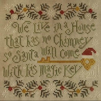 Silver Creek Samplers Santa's Magic Key