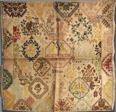 Stitchy Box Samplers Sarah Moon 1791