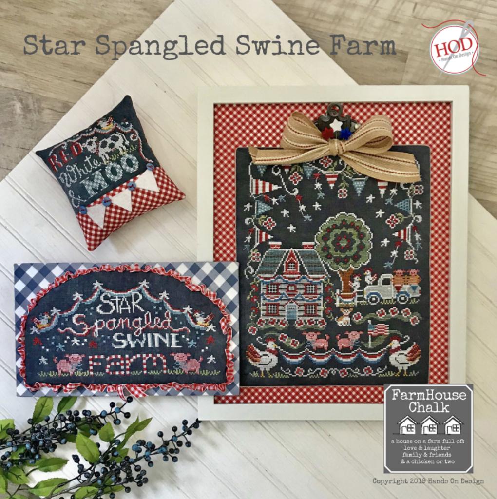 Hands On Design Star Spangles Swine Farm