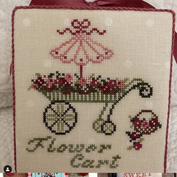JBW Designs French Country Flower Cart