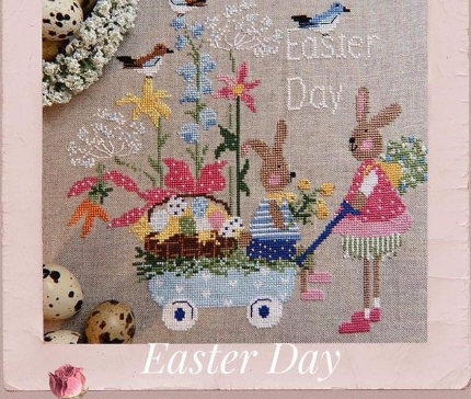 Lilli Violette Easter Day