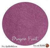 Fox and Rabbit Dragon Fruit Linen