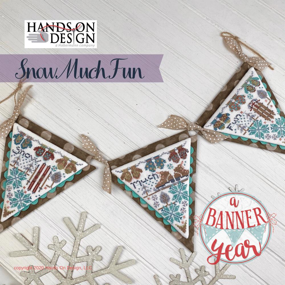 Hands On Design A Banner Year: Snow Much Fun