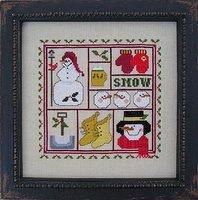 Prairie Grove Peddler #29 Snowman Sampler