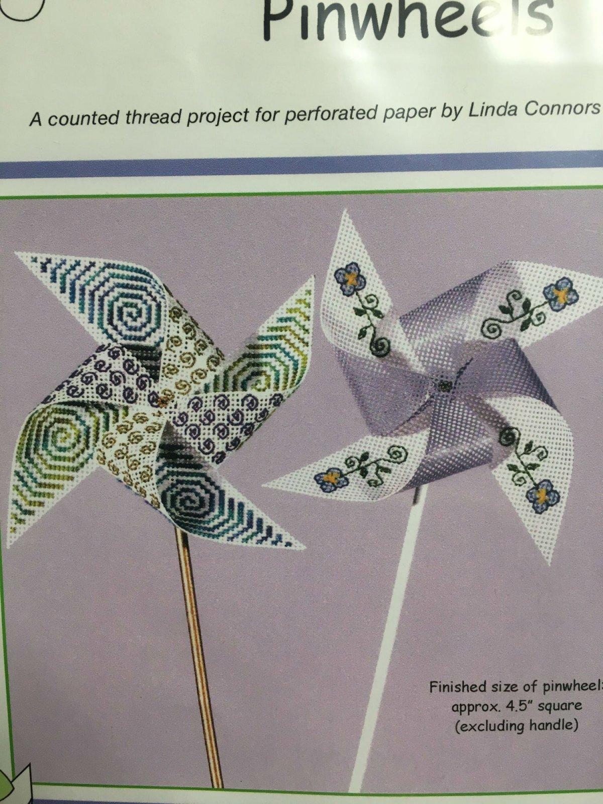 Calico Crossroads Spiral Blooms Pinwheels
