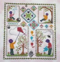 Handblessings Spring Quilt