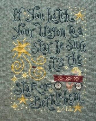 Silver Creek Samplers Star Of Bethlehem