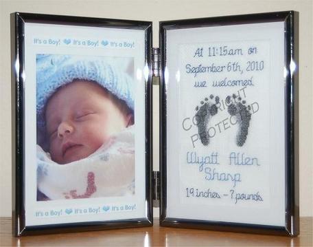 Linda Jeanne Jenkins Stitches & Photos: New Baby