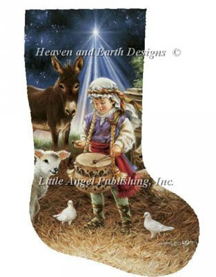 Heaven and Earth Designs Stocking Little Drummer Boy