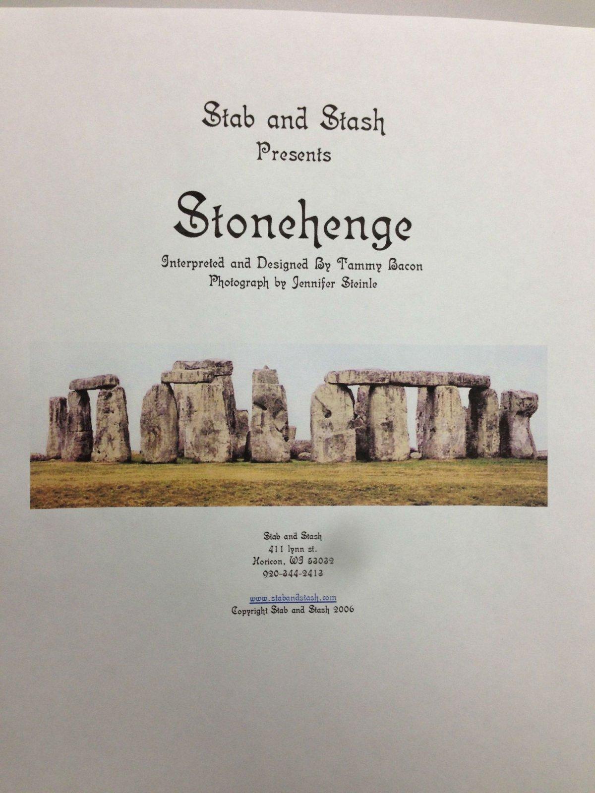 Stab and Stash Stonehenge